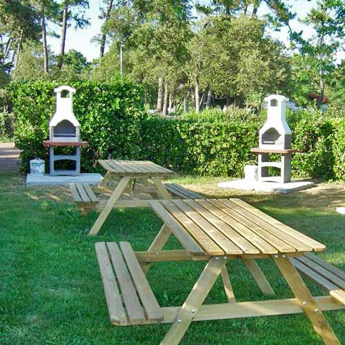 Services on campingsite 4 stars Royan Charente maritime France